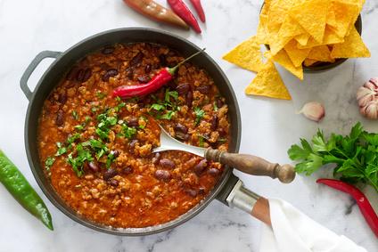 Rezept für Chili con Carne schnell