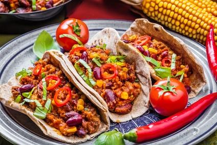 Schnelles Rezept für mexikanische Tacos mit Hackfleisch