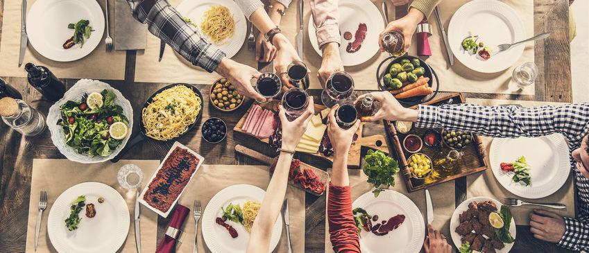 Schnelle Gerichte für Party mit vielen Gästen